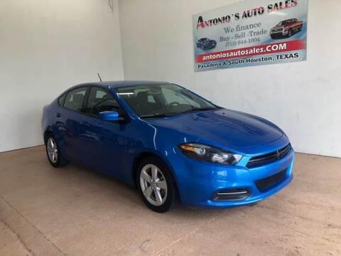 2016 Dodge Dart for sale at Antonio's Auto Sales - Antonio`s  3001 in Pasadena TX
