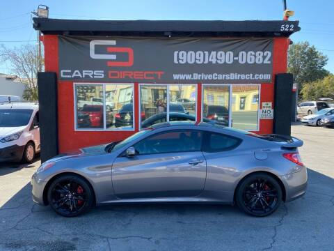 2010 Hyundai Genesis Coupe for sale at Cars Direct in Ontario CA