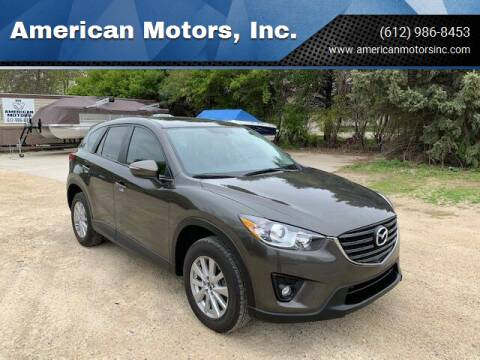 2016 Mazda CX-5 for sale at American Motors, Inc. in Farmington MN