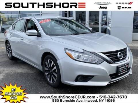 2018 Nissan Altima for sale at South Shore Chrysler Dodge Jeep Ram in Inwood NY