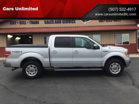 2011 Ford F-150 for sale at Cars Unlimited in Marshall MN