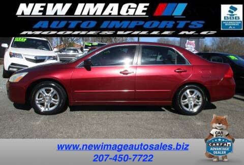 2006 Honda Accord for sale at New Image Auto Imports Inc in Mooresville NC