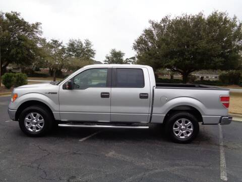 2013 Ford F-150 for sale at BALKCUM AUTO INC in Wilmington NC