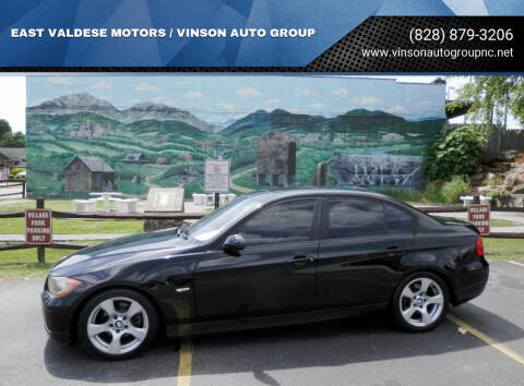 2006 BMW 3 Series for sale at EAST VALDESE MOTORS / VINSON AUTO GROUP in Valdese NC