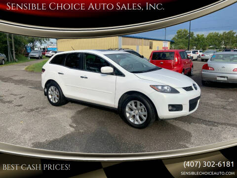 2007 Mazda CX-7 for sale at Sensible Choice Auto Sales, Inc. in Longwood FL