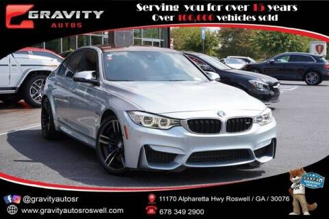 2016 BMW M3 for sale at Gravity Autos Roswell in Roswell GA