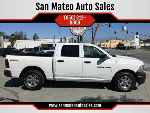2012 RAM Ram Pickup 1500 for sale at San Mateo Auto Sales in San Mateo CA