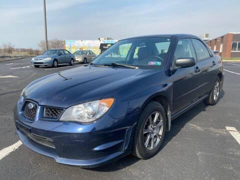 2006 Subaru Impreza for sale at Professionals Auto Sales in Philadelphia PA