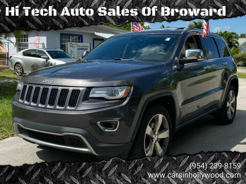 2014 Jeep Grand Cherokee for sale at Hi Tech Auto Sales Of Broward in Hollywood FL