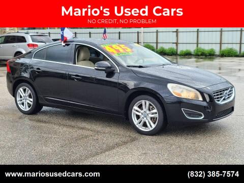 2012 Volvo S60 for sale at Mario's Used Cars - Pasadena Location in Pasadena TX