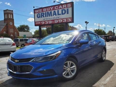 2017 Chevrolet Cruze for sale at Grimaldi Auto Sales Inc in Warren MI