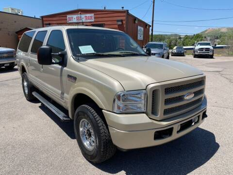 2005 Ford Excursion for sale at BERKENKOTTER MOTORS in Brighton CO