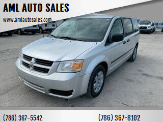 2008 Dodge Grand Caravan for sale at AML AUTO SALES - Cargo Vans in Opa-Locka FL