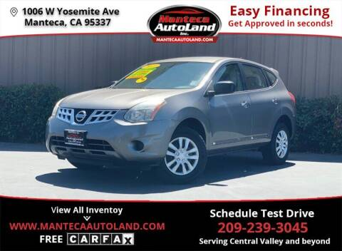 2013 Nissan Rogue for sale at Manteca Auto Land in Manteca CA