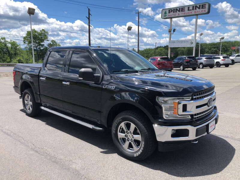 2018 Ford F-150 for sale at Pine Line Auto in Olyphant PA