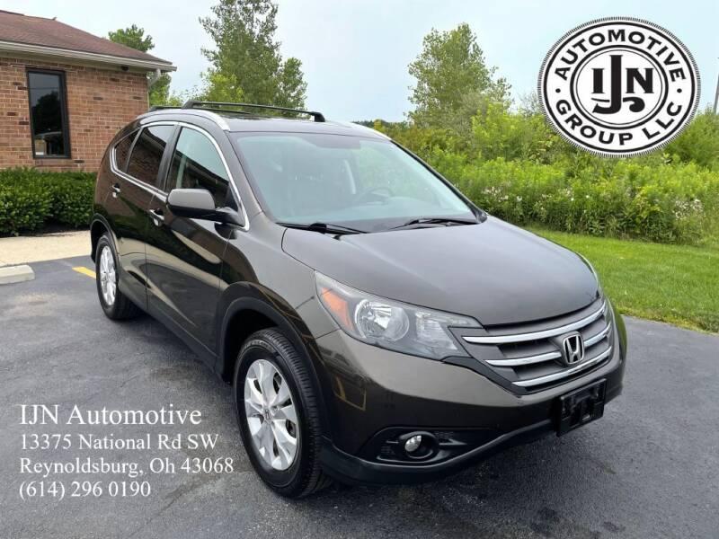 2014 Honda CR-V for sale at IJN Automotive Group LLC in Reynoldsburg OH
