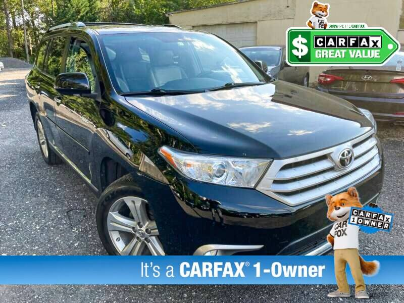 2012 Toyota Highlander for sale at High Rated Auto Company in Abingdon MD