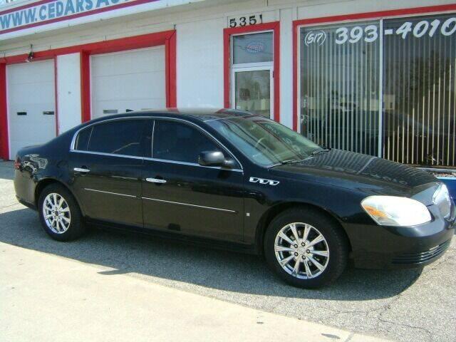 2009 Buick Lucerne for sale at Cedar Auto Sales in Lansing MI