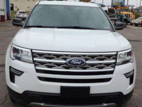 2018 Ford Explorer for sale at CHUCKS AUTO SERVICE LLC in Sturgis MI