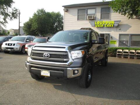 2015 Toyota Tundra for sale at Loudoun Used Cars in Leesburg VA