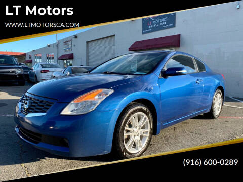 2008 Nissan Altima for sale at LT Motors in Rancho Cordova CA