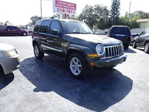 2006 Jeep Liberty for sale at DONNY MILLS AUTO SALES in Largo FL