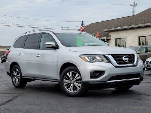 2018 Nissan Pathfinder for sale at Tri-County Pre-Owned Superstore in Reynoldsburg OH