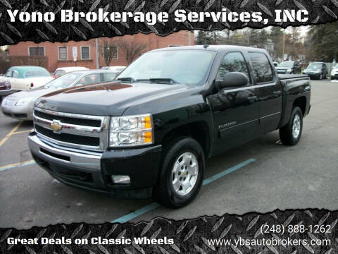2011 Chevrolet Silverado 1500 for sale at Yono Brokerage Services, INC in Farmington MI