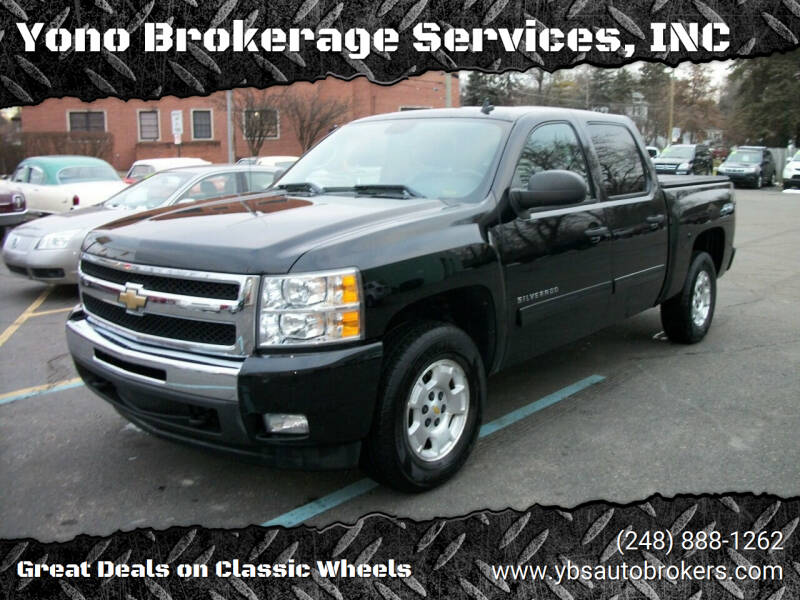 2011 Chevrolet Silverado 1500 for sale at Yono Brokerage Services, INC in Farmington MI