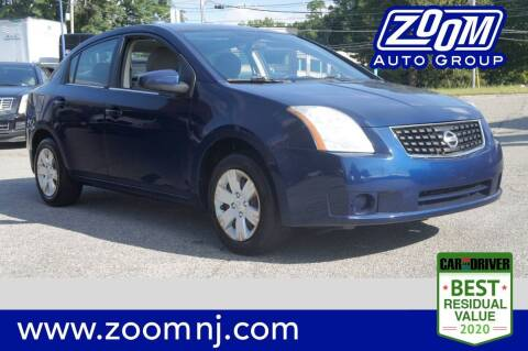 2008 Nissan Sentra for sale at Zoom Auto Group in Parsippany NJ