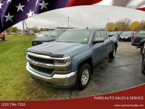 2016 Chevrolet Silverado 1500 for sale at Paris Auto Sales & Service in Big Rapids MI