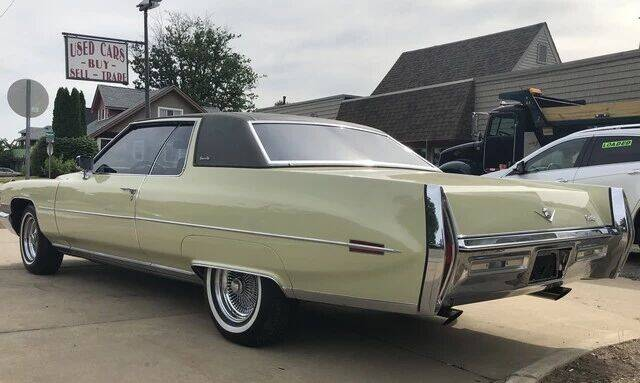 1972 Cadillac DeVille for sale at MICHAEL'S AUTO SALES in Mount Clemens MI