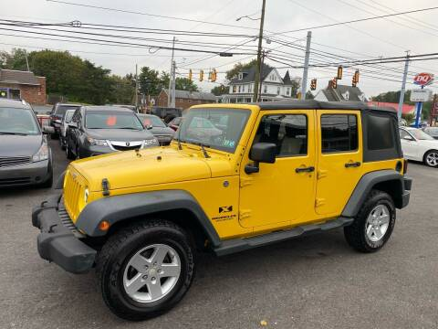 2008 Jeep Wrangler Unlimited for sale at Masic Motors, Inc. in Harrisburg PA