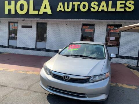 2012 Honda Civic for sale at HOLA AUTO SALES CHAMBLEE- BUY HERE PAY HERE - in Atlanta GA