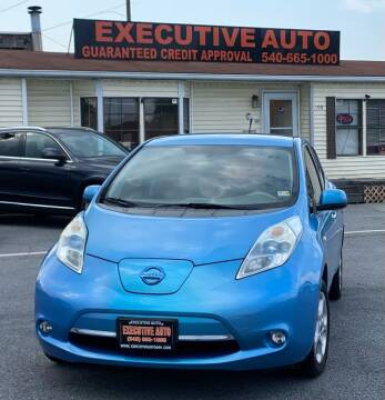 2011 Nissan LEAF for sale at Executive Auto in Winchester VA