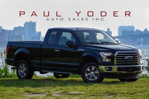 2016 Ford F-150 for sale at PAUL YODER AUTO SALES INC in Sarasota FL