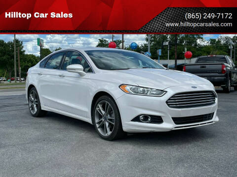 2016 Ford Fusion for sale at Hilltop Car Sales in Knoxville TN