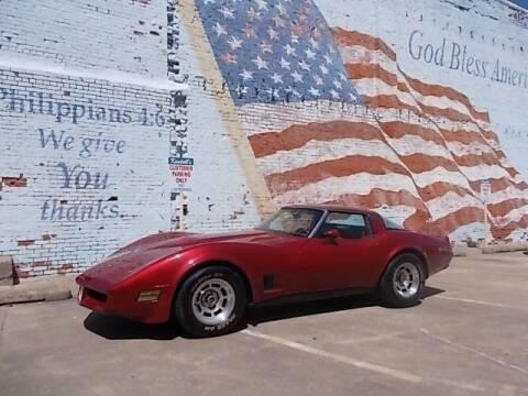 1979 Chevrolet Corvette for sale at LARRY'S CLASSICS in Skiatook OK