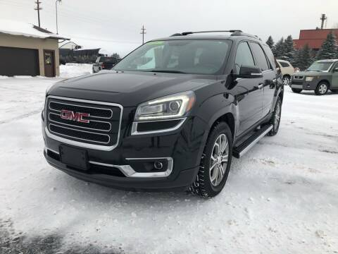 2014 GMC Acadia for sale at Mike's Budget Auto Sales in Cadillac MI
