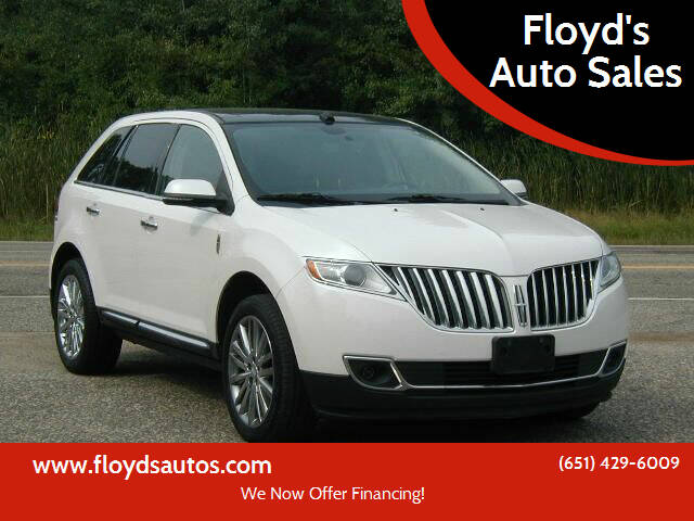 2013 Lincoln MKX for sale at Floyd's Auto Sales in Stillwater MN