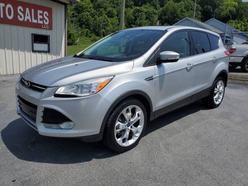 2013 Ford Escape for sale at MCMANUS AUTO SALES in Knoxville TN