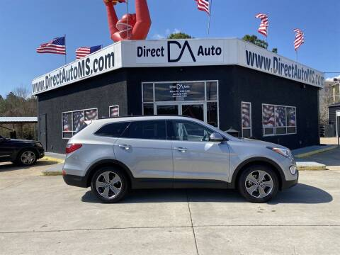 2014 Hyundai Santa Fe for sale at Direct Auto in D'Iberville MS