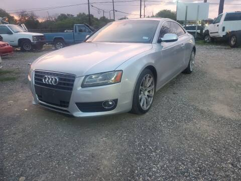 2011 Audi A5 for sale at C.J. AUTO SALES llc. in San Antonio TX