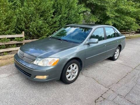 2000 Toyota Avalon for sale at Front Porch Motors Inc. in Conyers GA