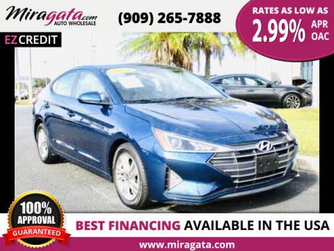 2019 Hyundai Elantra for sale at Miragata Auto in Bloomington CA