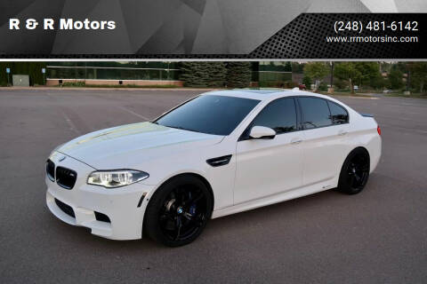 2015 BMW M5 for sale at R & R Motors in Waterford MI