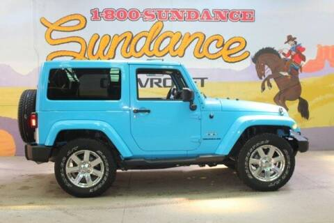2017 Jeep Wrangler for sale at Sundance Chevrolet in Grand Ledge MI