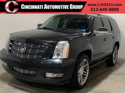 2013 Cadillac Escalade for sale at Cincinnati Automotive Group in Lebanon OH
