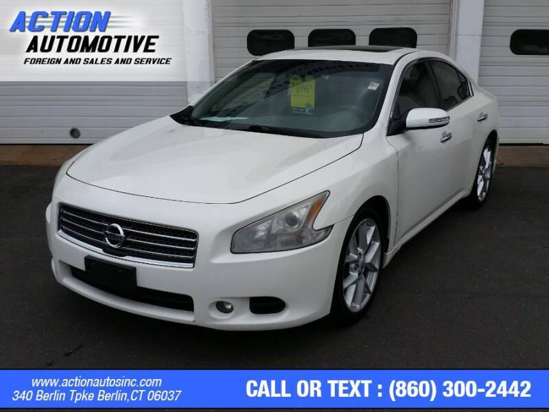 2009 Nissan Maxima for sale at Action Automotive Inc in Berlin CT