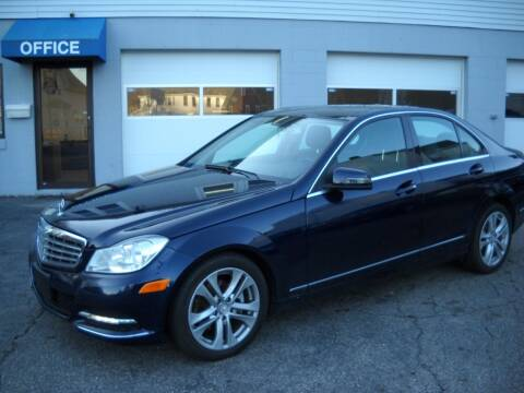 2013 Mercedes-Benz C-Class for sale at Best Wheels Imports in Johnston RI